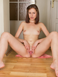 Hot Nubile Alba Shows Off Her Tender Tits And Luscious Pussy - Picture 12