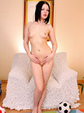 Alluring Nubile With A Plump Ass Spreading Her Moist Pussy - Picture 8
