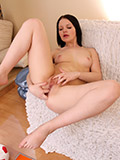 Alluring Nubile With A Plump Ass Spreading Her Moist Pussy - Picture 11