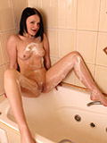 Take A Peek At Sexy Aldi As She Washes Her Tight Pussy In The Shower - Picture 9