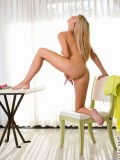 Amanda Tate Spreads Her Long Legs To Diddle Her Horny Twat - Picture 15