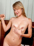 Nubiles.net Angel Piaff - Nubiles Angel Piaff getting fucked inside the bathroom and takes a load the last straw her breasts