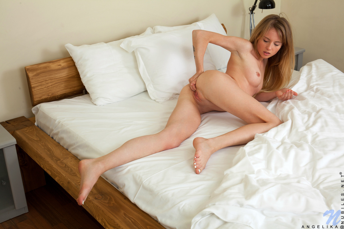 Nubiles.net - Angelika: Playful Blonde