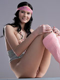 Fresh And Playful Nubile Gently Rubs Her Horny Cream Filled Pussy - Picture 8