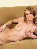 Naughty Ash Feels Hotter Showing Her Naked Body All The Way On Couch - Picture 9