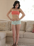 Amateur Aurora Monroe Plays With Her Moist Pussy - Picture 1