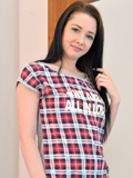 Nubiles.net Barbara Bella - Sexually weird girl next door teases her clean-shaven submissive for the present she squirts