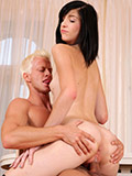 Nubiles.net Barbra - Order of the day chick Barbra has her sinistral pussy rammed hard at the end of one's tether an older guy