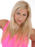 Long Haired Girl Next Door Lying On The Floor Fingering Her Pink Nubile Pussy - Picture 1