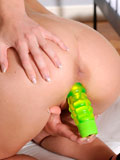 Good Looking Hottie Drills Her Fuck Hole With A Powerful Vibrator - Picture 13
