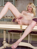 Naughty Girl Cordelia Plays With Her Moist Pussy And Spreads It Wide Open - Picture 13