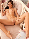 Playful Coed Crystal Star Naughtily Taunts Us With Glimpses Of Her Shaved Pussy - Picture 14