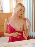 Nubiles.net Diana Fox - Slender blonde fucks her needy pussy hole with her hair brush