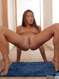 Nubile Elissa Flexes Her Long Legs And Fingers Her Sticky Pussy - Picture 11