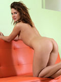 Beautiful Nubile Emma Brown Plays With Her Soft Tits And Tight Twat - Picture 9