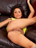 Nude Tan Girl Spreads Her Legs And Pumps Her Pussy With Her Fingers - Picture 3