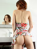 Nubiles.net Jay Taylor - Horny damsel Jay Taylor pleasures her fresh submissive with a magic wand