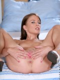 Small Breasted Jesica Toying Her Dripping Pussy As She Gets Alone In Her Room - Picture 8