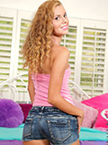 Nubiles.net Jessie Rogers - Randy chick loves to charge from will not hear of tight pussy until she cums