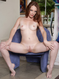 Fiery Hot Redhead Gives Her Creamy Pink Pussy A Good Finger Fuck - Picture 8