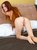 Nubiles.net Katya Blue - Stunning coed tickles her tight feminized male with big magic wand