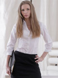 Stunning Nubile Kortny Gets Horny In The Office - Picture 1
