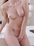 Stunning Nubile Kortny Gets Horny In The Office - Picture 8