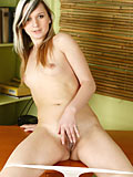 Charming Nubile Teen Liza Pleasures Herself With Her Bare Fingers - Picture 5