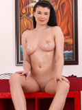 Gorgeous Foreign Chick Lucy Li Oils Up Her Giant Perky Tits - Picture 15
