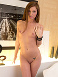 Naughty Temptress Tickles Her Craving Pussy With Her Favorite Toy - Picture 9