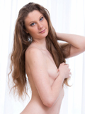Nubiles.net Maria Ross - Hot amateur shows off her soft shaved pussy