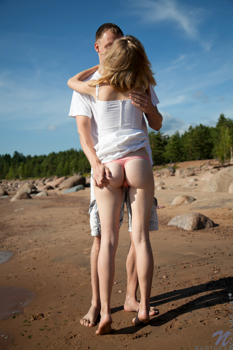 Cute russian teen couple katerina and andrey hard fuck - 3 4