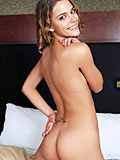 Naked nubile meggan simply covers her tight rosy pussy with her cute toy from Nubiles.net