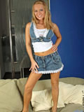 Melita Puts Up A Great Couch Show As She Poses With Her Nude Body And Flashes Her Craving Hot Hole - Picture 1