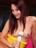 Brunette Spinner Missy Sweet Masturbates With Her Vibrator - Picture 10