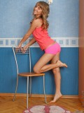 Naughty Teen Nanette Flaunts Her Curves Really Proud And Spreading Her Legs - Picture 1