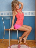Naughty Teen Nanette Flaunts Her Curves Really Proud And Spreading Her Legs - Picture 2