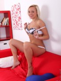 Naomi Nevena Tickles Her Swollen Clit With A Magic Wand - Picture 6