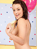 Amateur Nubile Babe Poppy Shows Off Her Tender Breasts And Hot Pussy - Picture 7