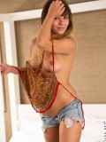 See This Hot Coed And Her Cameltoe In Tiny Cut Off Shorts With No Panties - Picture 5