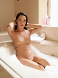 Sexy Brunette Sabrina Banks Pounds Her Naughty Twat With A Dildo - Picture 2