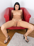 Nubiles.net Sally Lynn - Dong hungry coed with protracted hot legs fingers her oozing cum covered submissive