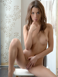 Stunning Nubile Strips Down To Give You A Taste Of Her Naughty Side - Picture 12