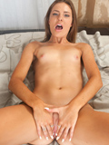 Nubiles.net Shyla Ryder - Playful coed shows off her sexy legs and cock hungry pussy