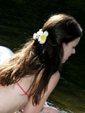 Yummy Tera Teasing On Outdoors And Posing Her Wet Luscious Body - Picture 7