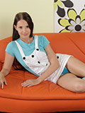Nubile Hottie In Long Socks Tickles Her Pussy With The Magic Wand - Picture 1