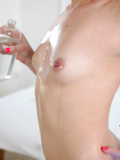 Playful Coed Uses A Magic Wand To Make Her Throbbing Pussy Cum - Picture 3