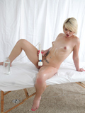 Playful Coed Uses A Magic Wand To Make Her Throbbing Pussy Cum - Picture 13