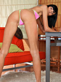 Nubiles.net Yani - Skinny mollycoddle shows off her pussy bent over doggystyle