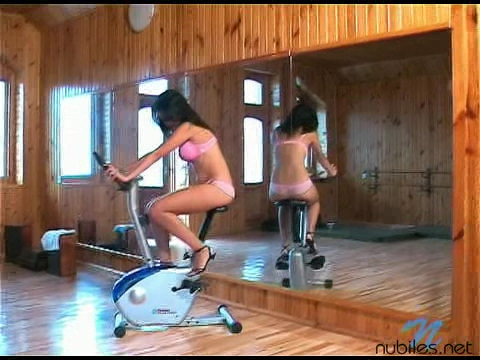 Exercisebike - Nubiles.net